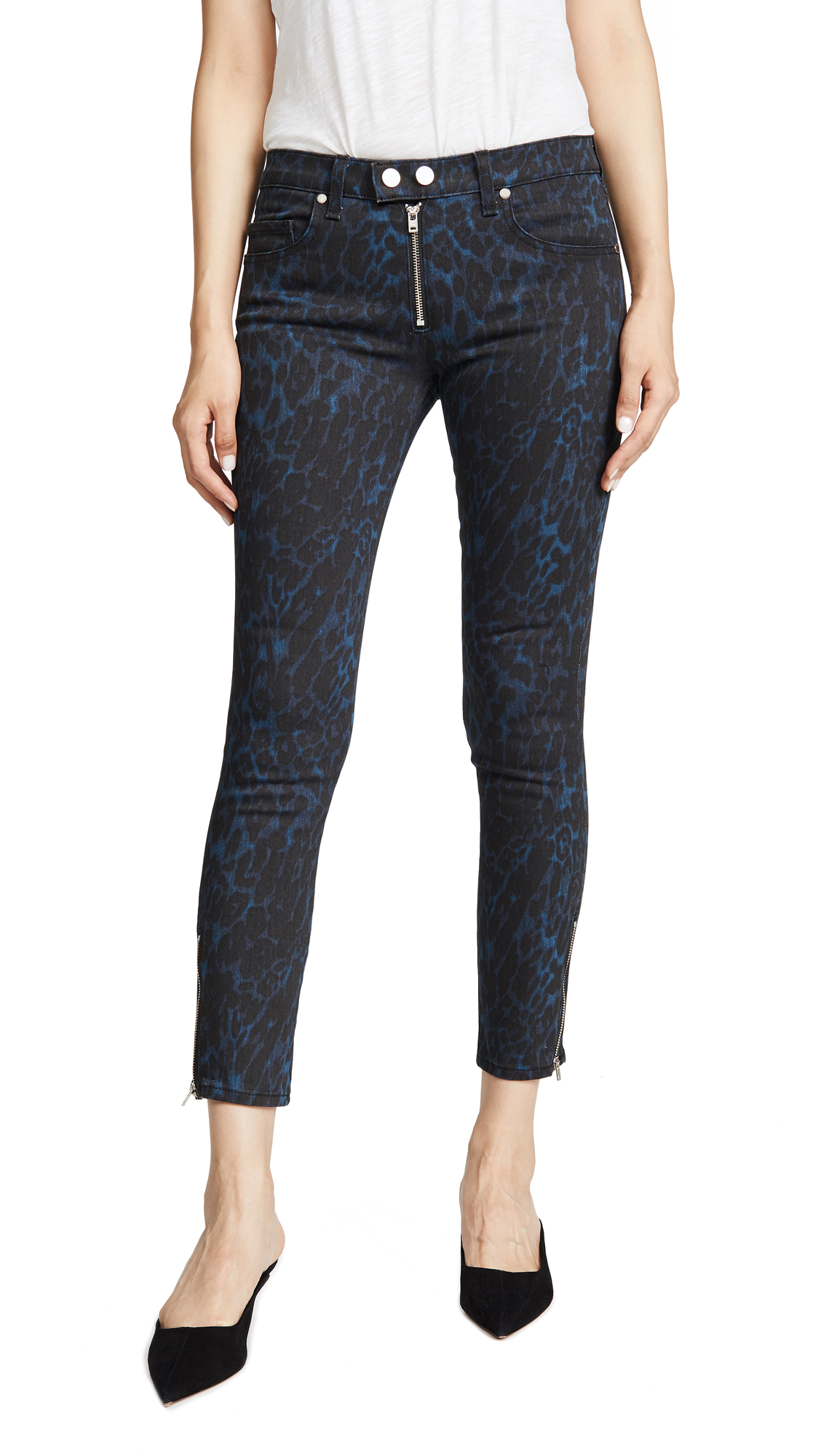 Buy Ramy Brook online - photo of Ramy Brook Printed Kate Jeans