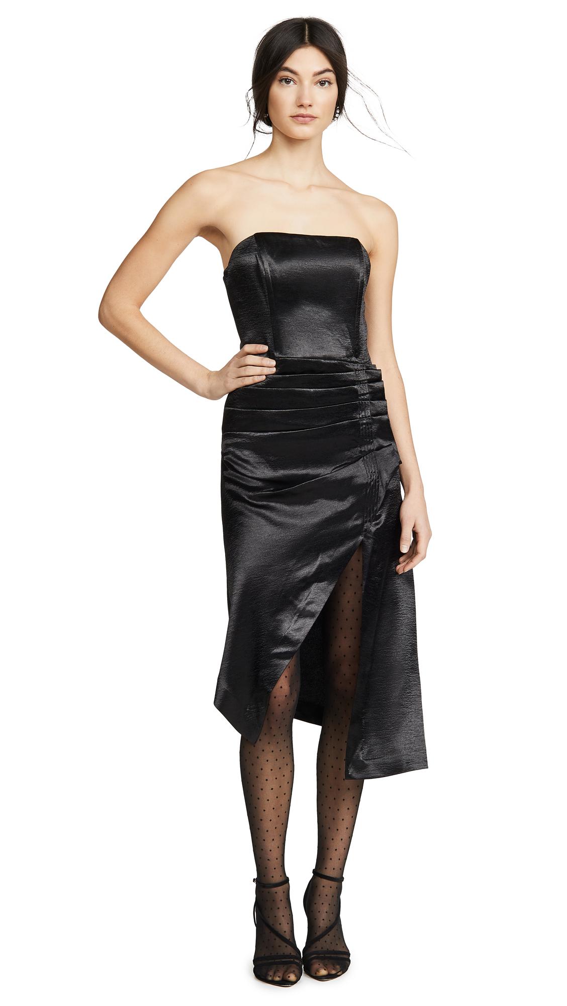 Buy Ramy Brook online - photo of Ramy Brook Metallic Carmen Dress