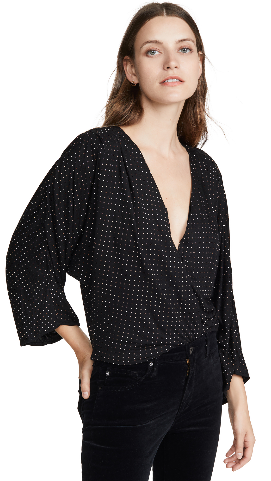 Buy Ramy Brook online - photo of Ramy Brook Studded Esther Blouse