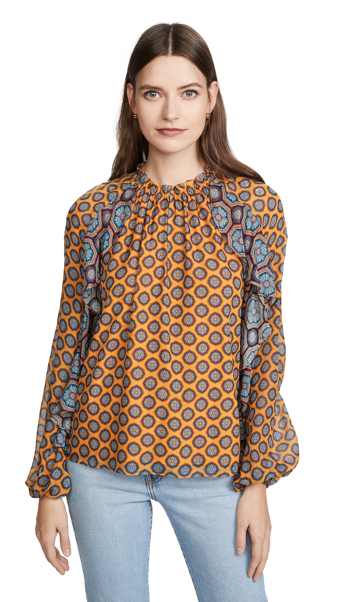 Buy Ramy Brook online - photo of Ramy Brook Printed Brenna Top