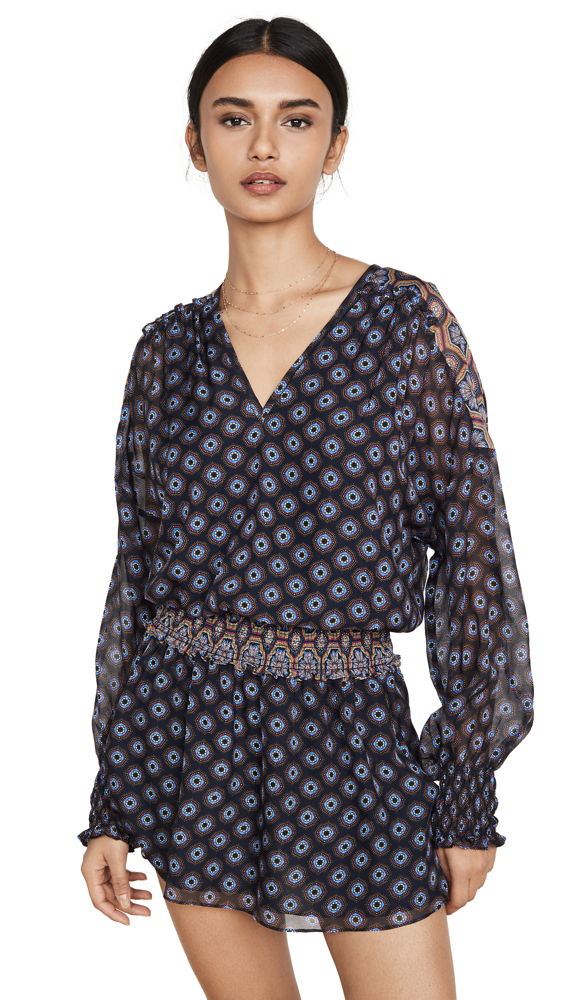 Ramy Brook Printed Davey Dress - 30% Off Sale