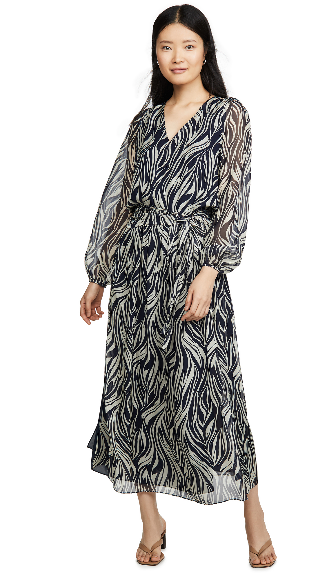 Ramy Brook Printed Marcella Dress - 55% Off Sale