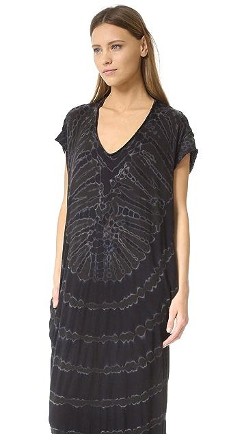 Raquel Allegra Short Sleeve Caftan Dress