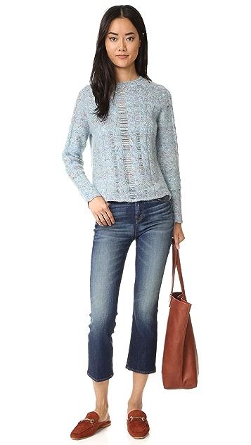 Raquel Allegra Cable Knit Pullover