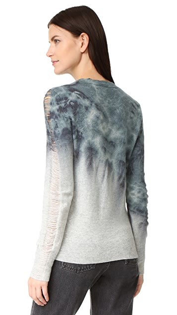 Raquel Allegra Shred Sleeve Sweater
