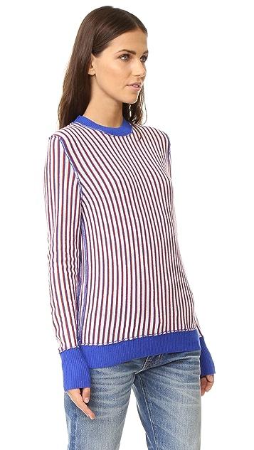 Raquel Allegra Fitted Crew Sweater