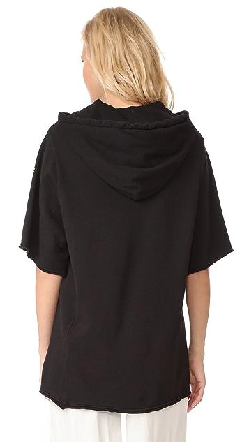 Raquel Allegra Half Sleeve Hoodie
