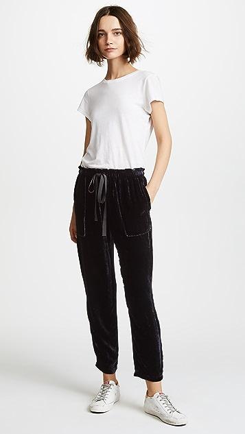 Raquel Allegra Drawstring Pants