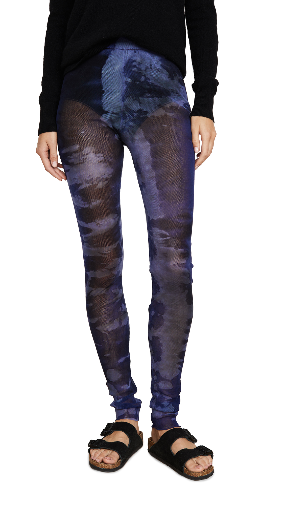 Buy Raquel Allegra online - photo of Raquel Allegra Tie Dye Leggings