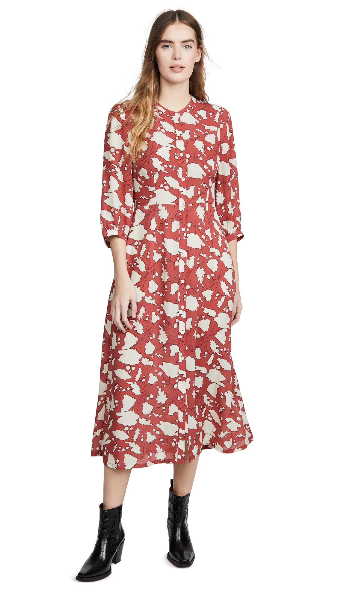 Raquel Allegra Ruffle Dreamer Dress - 50% Off Sale