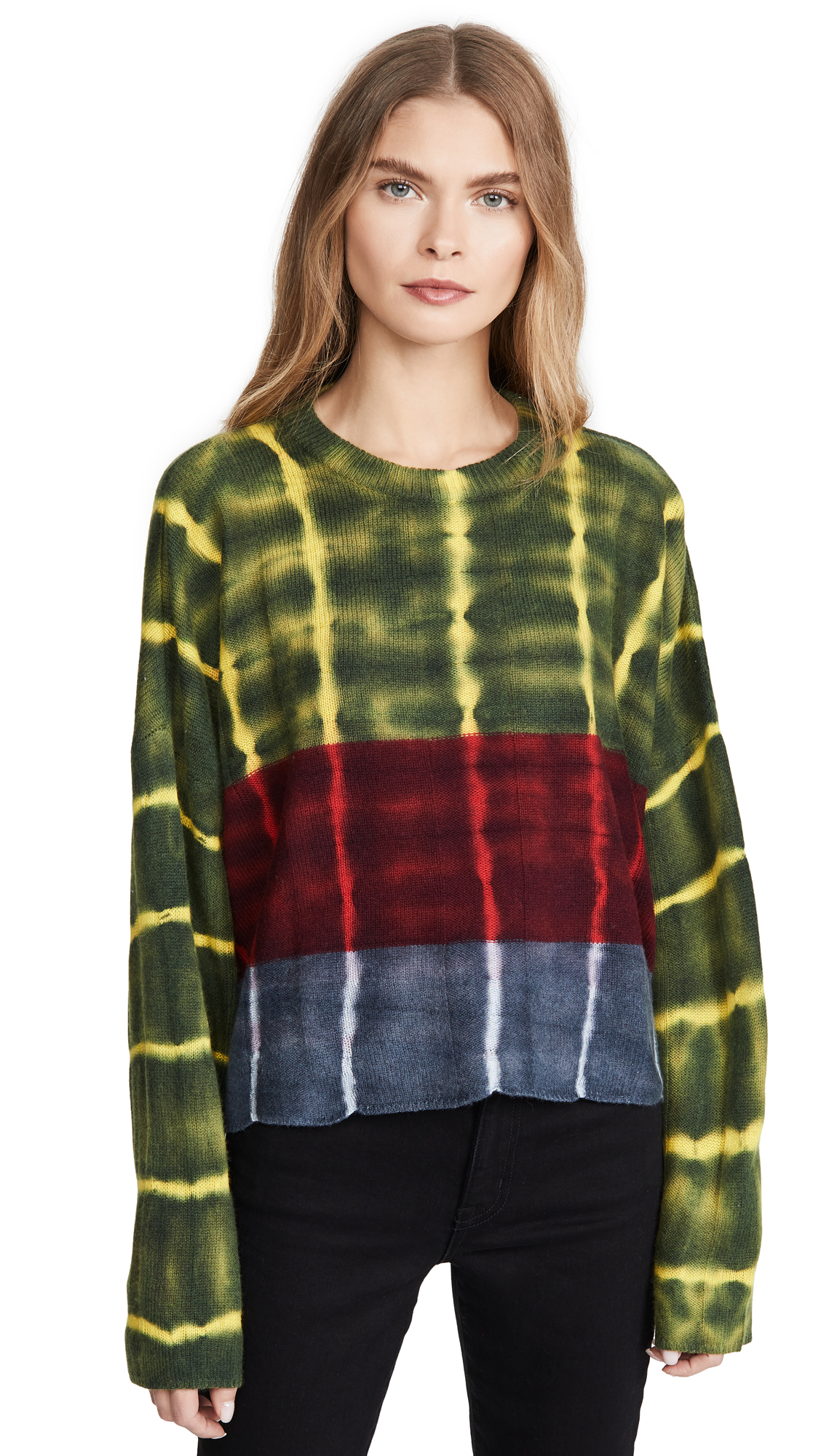 Buy Raquel Allegra online - photo of Raquel Allegra Boxy Crew Sweater
