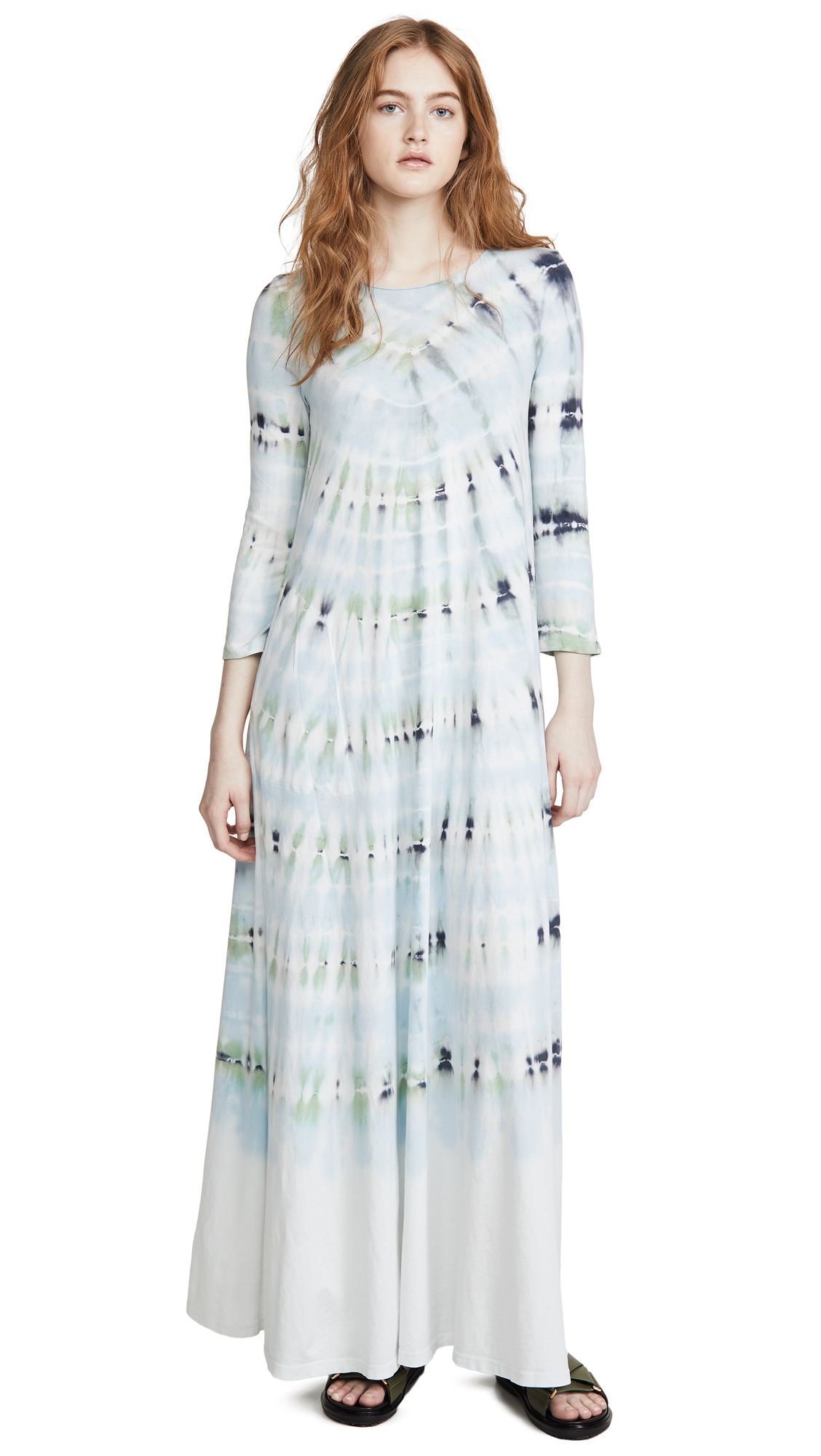 Buy Raquel Allegra Half Sleeve Maxi Dress online beautiful Raquel Allegra Clothing, Dresses