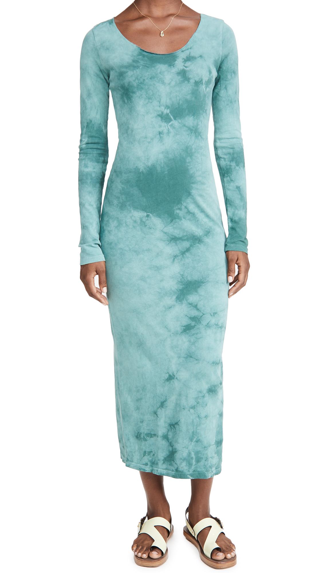 Raquel Allegra Fitted Long Sleeve Dress
