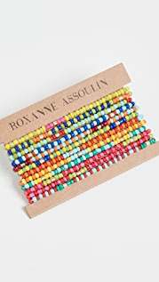 Roxanne Assoulin Patchwork - Set of Twelve Bracelets