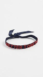 Roxanne Assoulin Браслет Better Together Tie One On