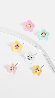 Roxanne Assoulin Pastel Flower Power Studs