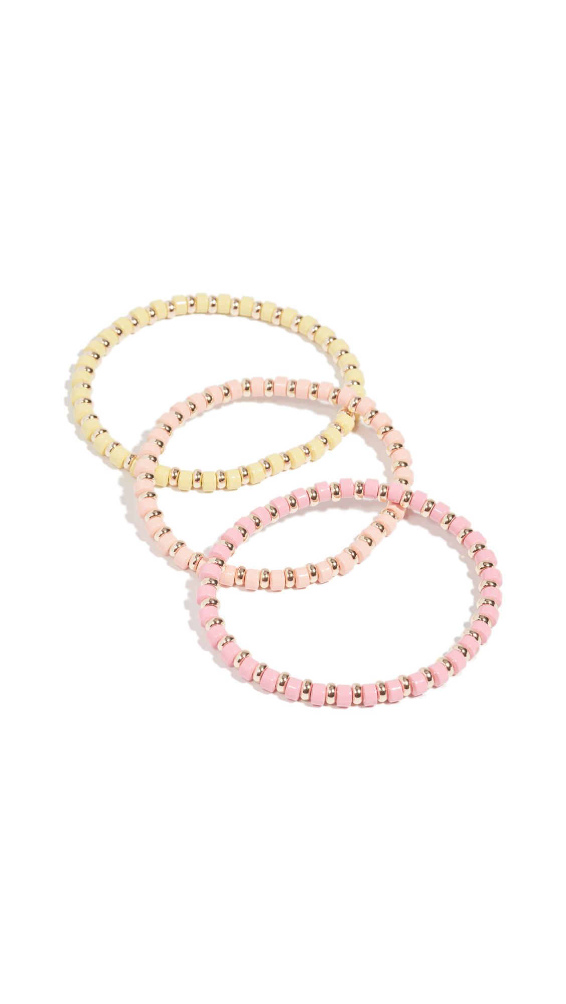 Roxanne Assoulin Pink Little Ones Bracelets