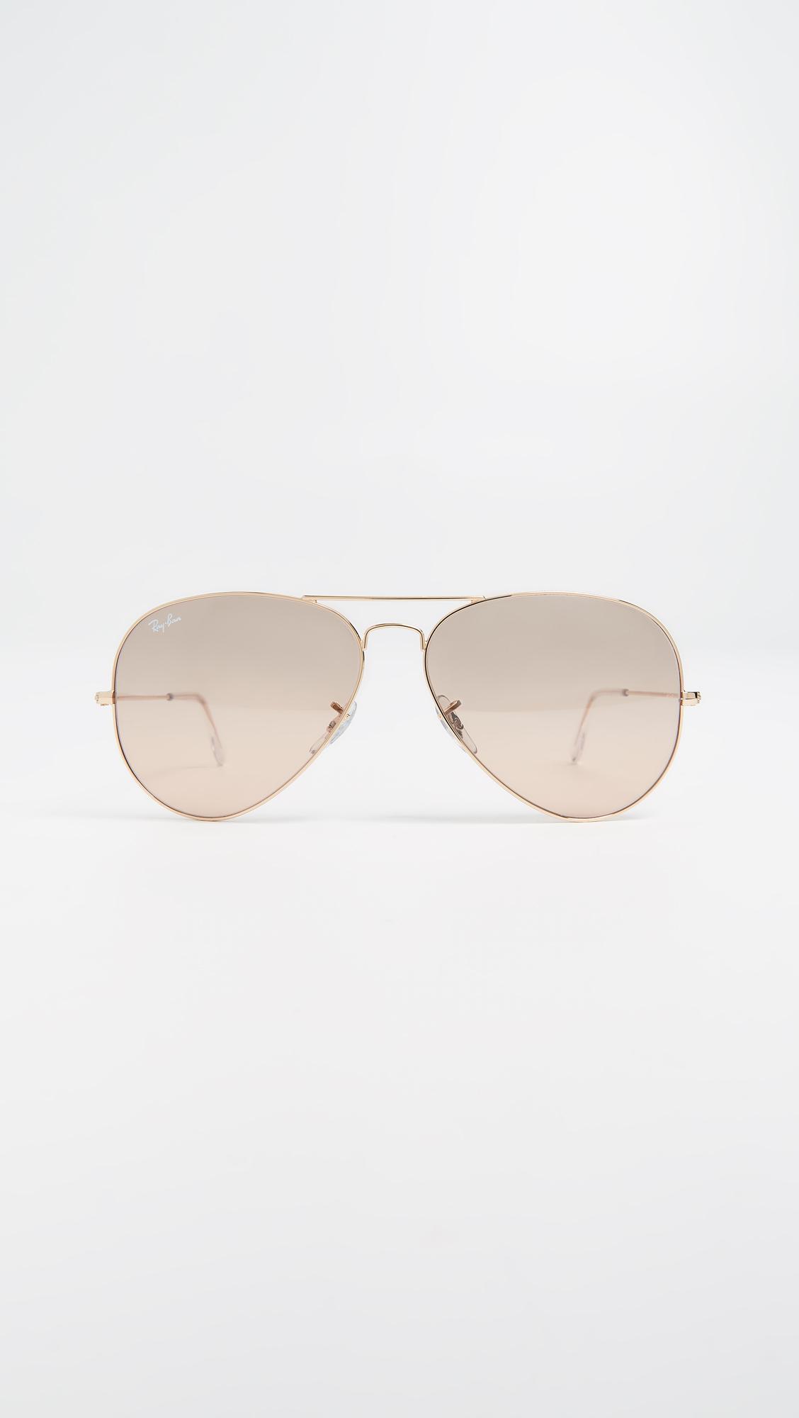 d8dfa39f5eb05 Ray-Ban Oversized Original Aviator Sunglasses   SHOPBOP