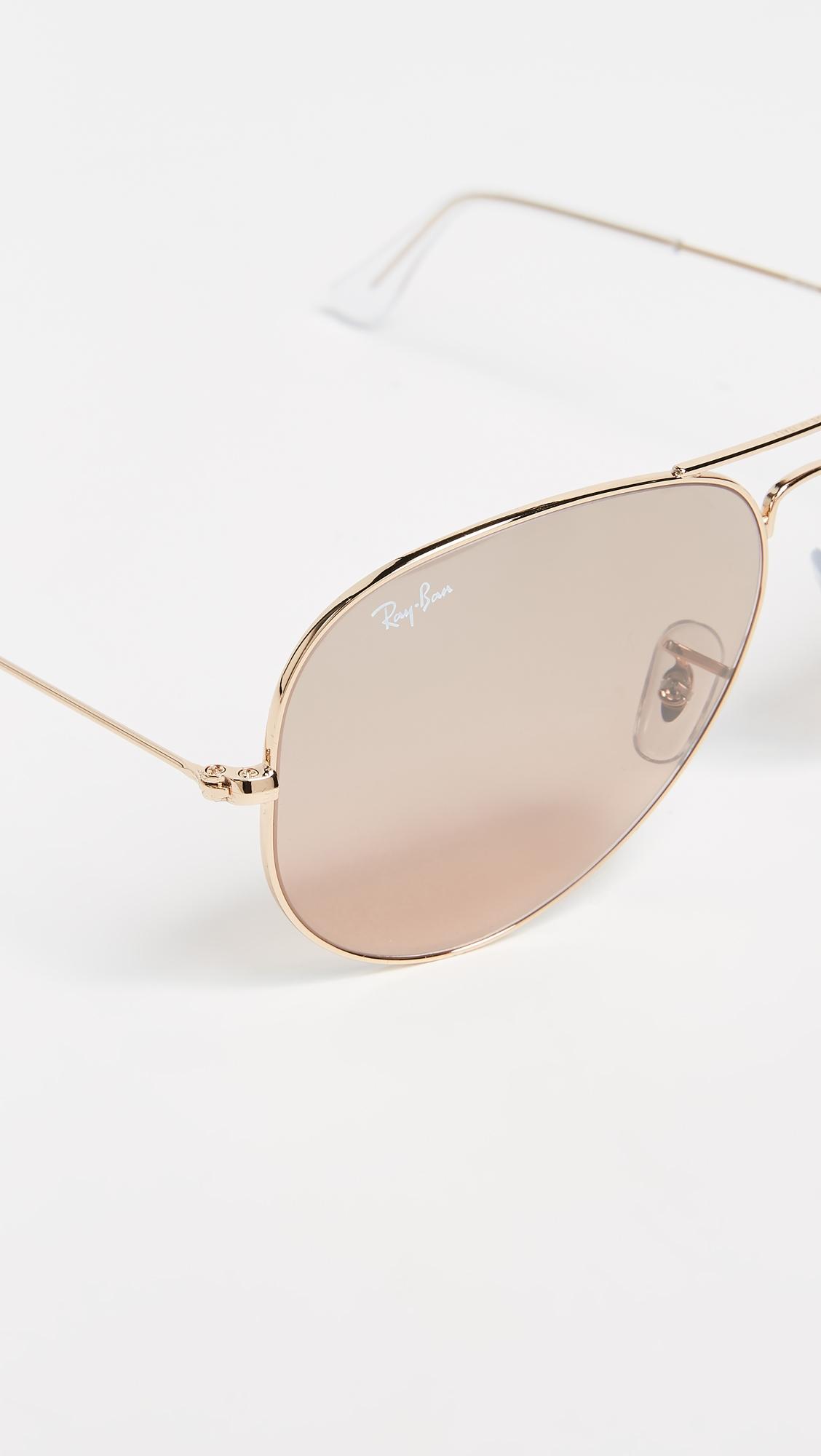 Оригинальные большие солнцезащитные очки-авиаторы Ray-Ban  (RAYBN4005842773314)