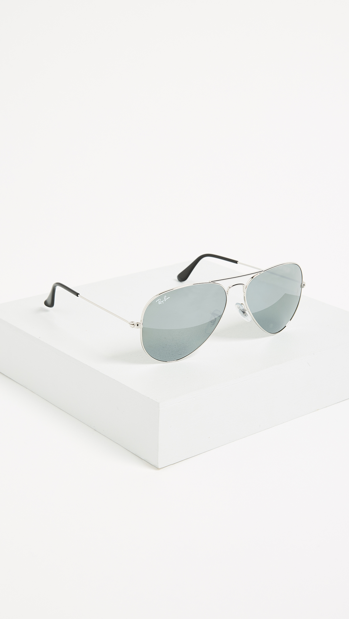 bbf5caee102e1c Ray-Ban Mirrored Original Aviator Sunglasses   SHOPBOP