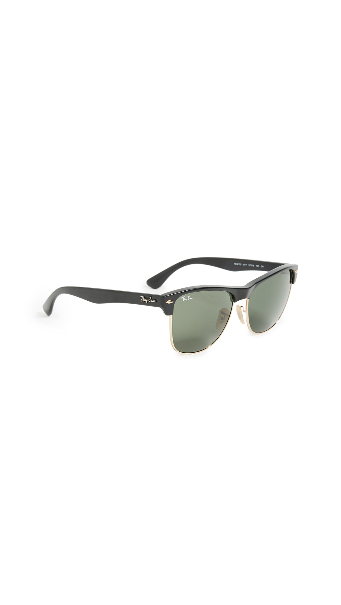 07efd977509a8 Ray-Ban RB4175 Oversized Clubmaster Sunglasses