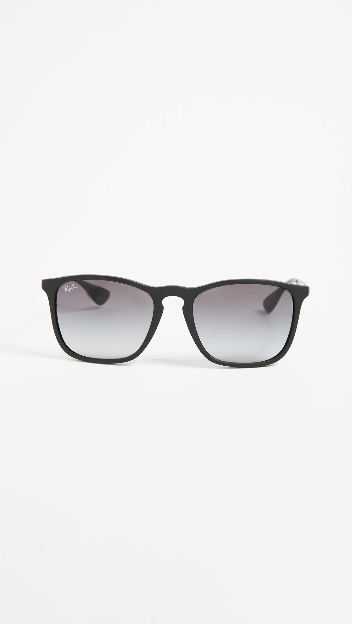 2ad55b3425 Ray-Ban RB4187 Chris Square Sunglasses