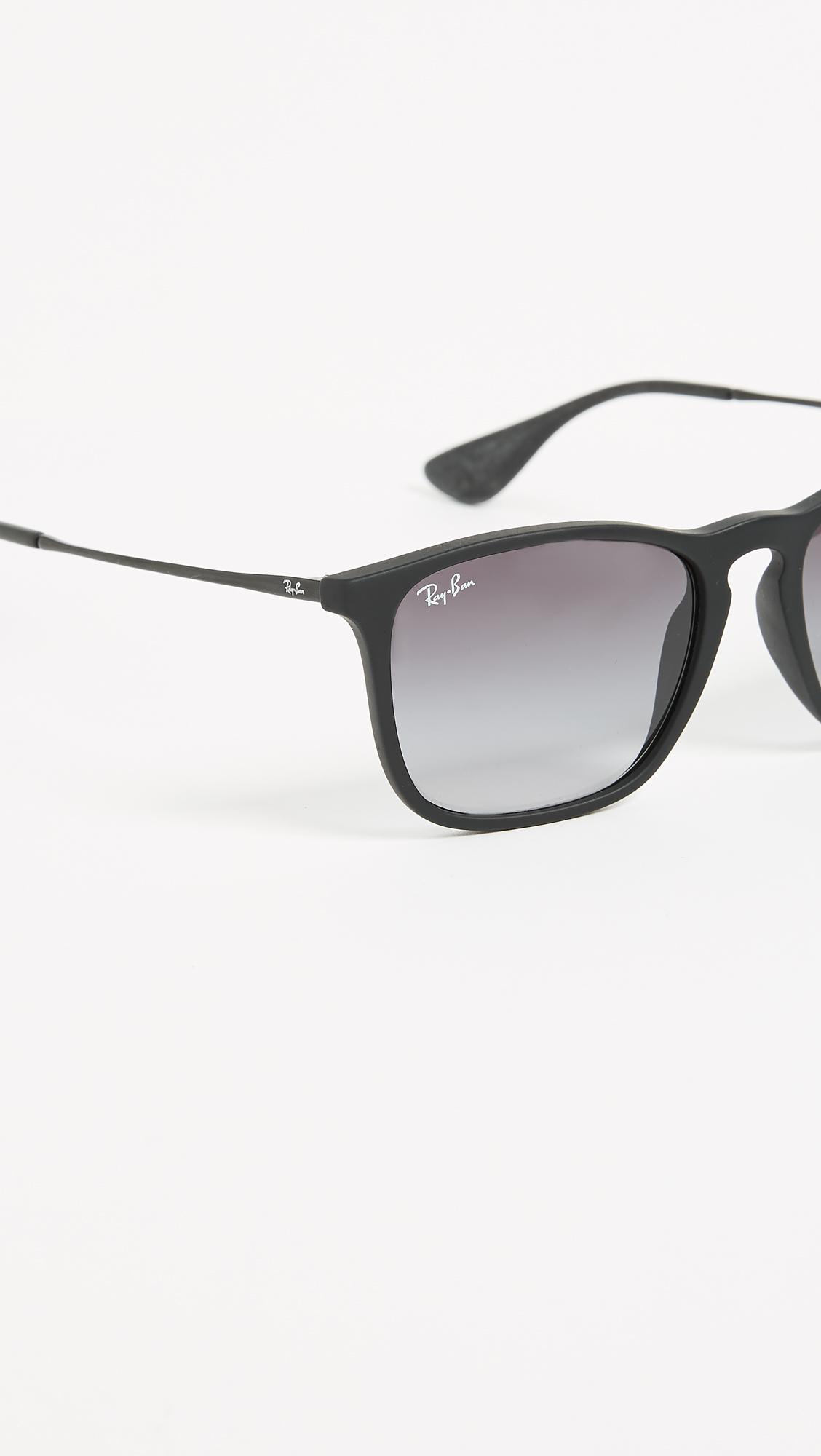 25518c5a210 Ray-Ban RB4187 Chris Square Sunglasses
