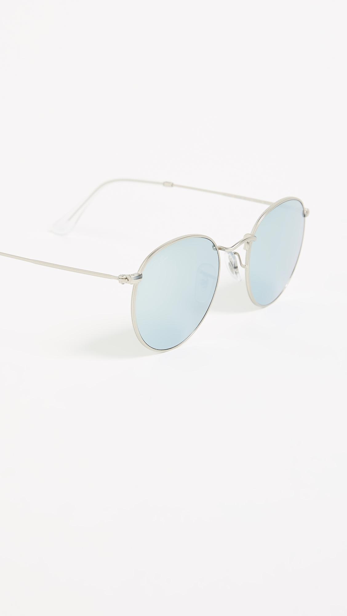 Зеркальные солнцезащитные очки Icons Ray-Ban  (RAYBN4018168415314)