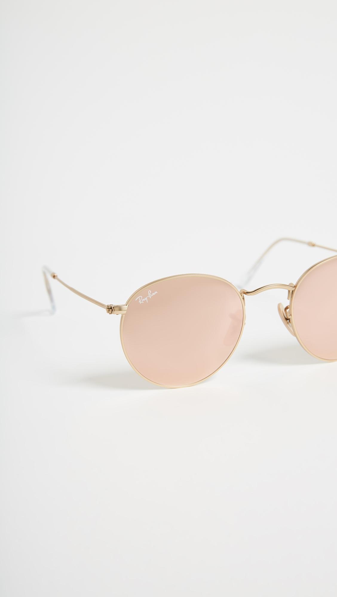 Зеркальные солнцезащитные очки Icons Ray-Ban  (RAYBN4018268416314)