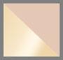 哑光金色/棕色镜面粉色