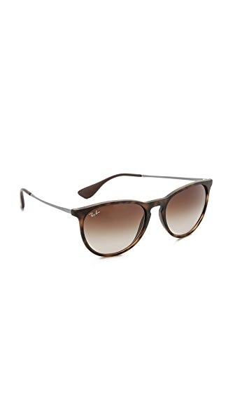 Ray-Ban Erika Sunglasses - Tortoise/Brown Gradient