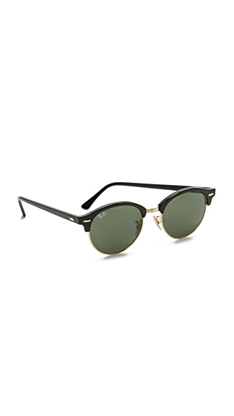 Ray-Ban Round Clubmaster Sunglasses at Shopbop