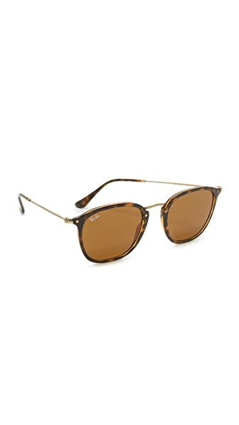 Ray-Ban Metal Bridge Sunglasses - Shiny Havana/Brown