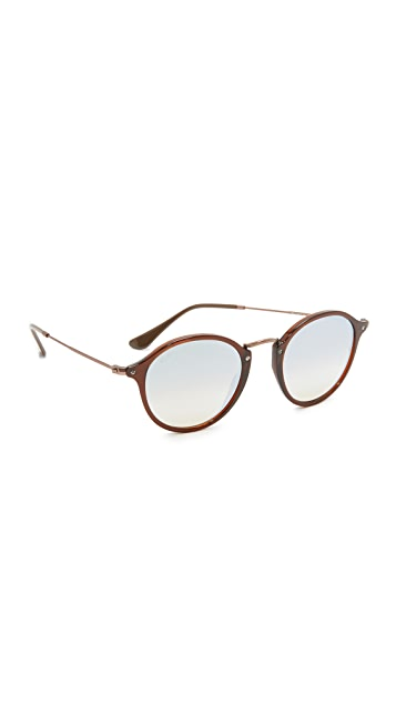 Ray-Ban Round Mirrored Sunglasses