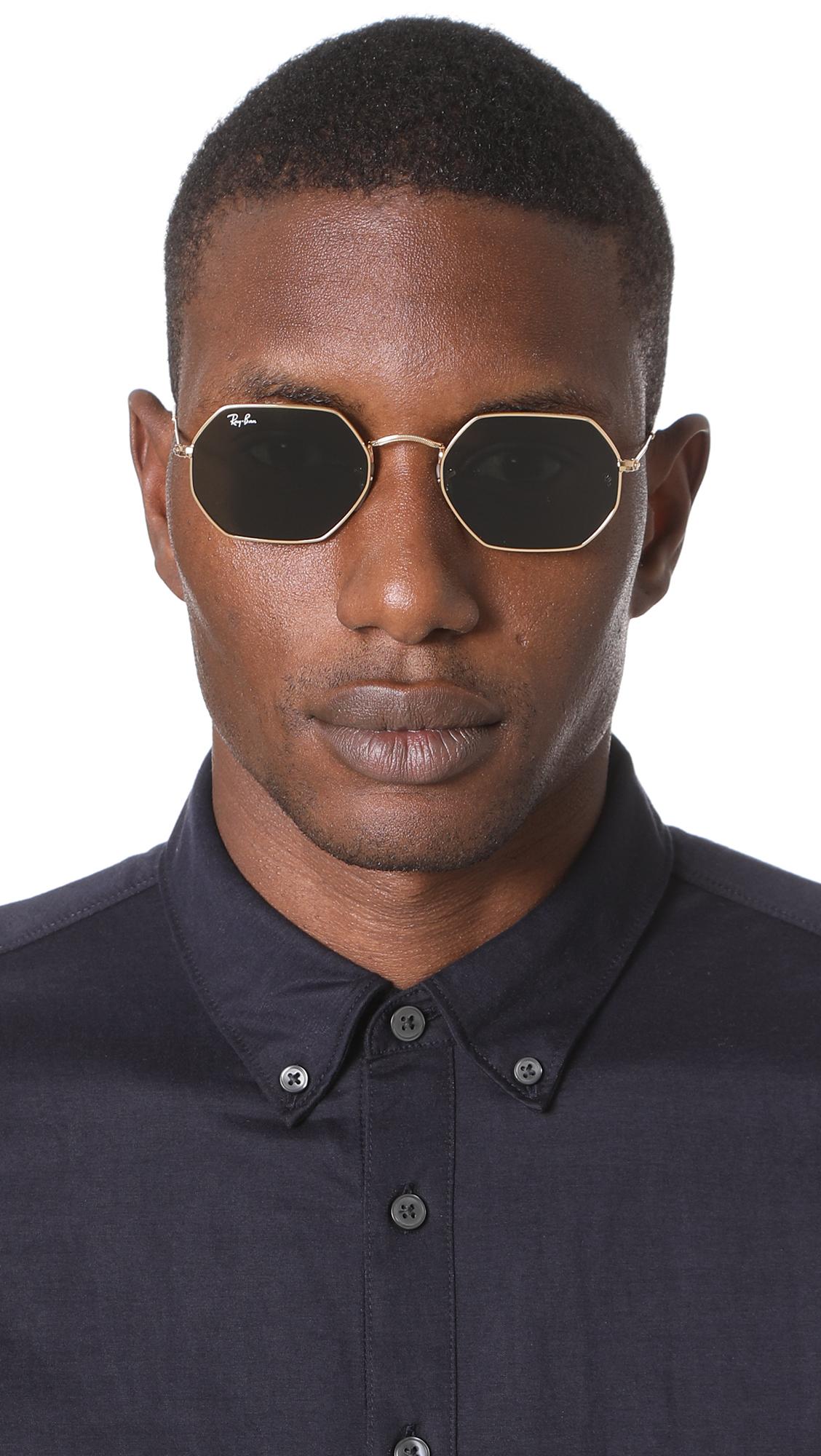 ef1c1652aa Ray-Ban Octagon Flat Lens Sunglasses
