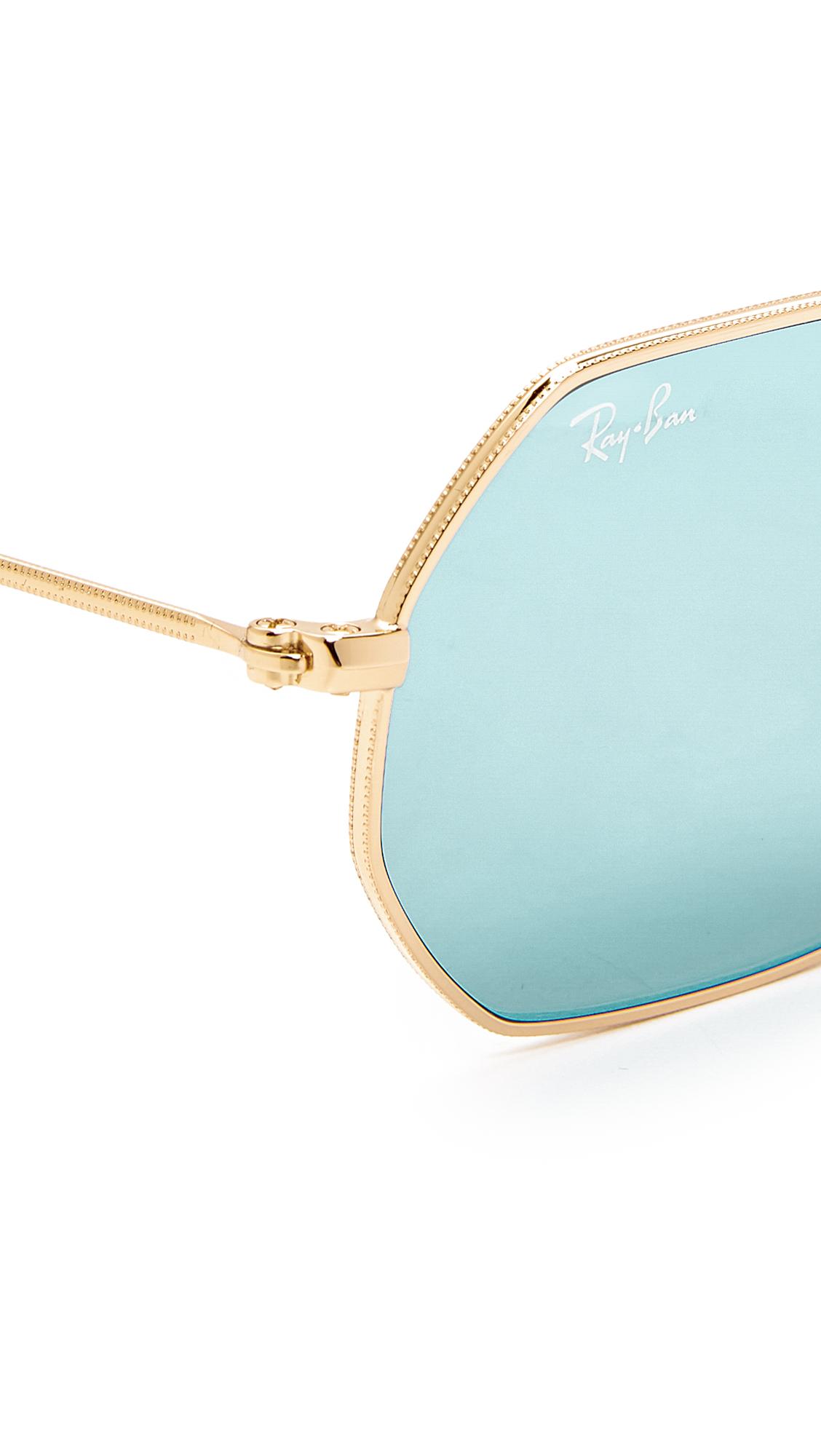 8f70b06131 Ray-Ban Octagon Flat Lens Sunglasses