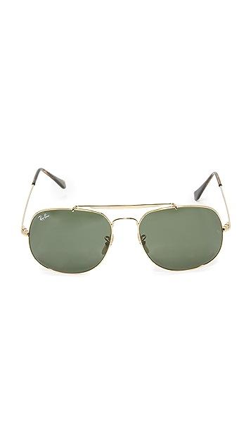 Ray-Ban The General Aviator Sunglasses