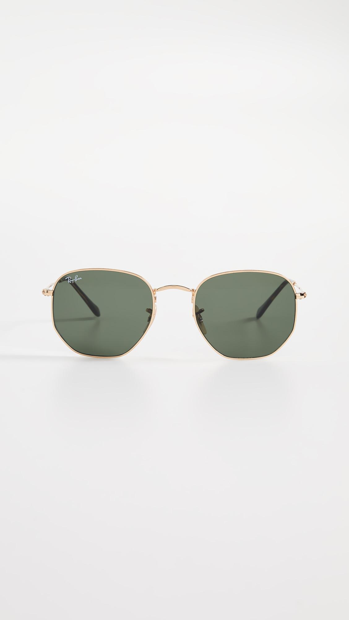 7f47aa54d83 Ray-Ban RB3548N Hexagonal Sunglasses