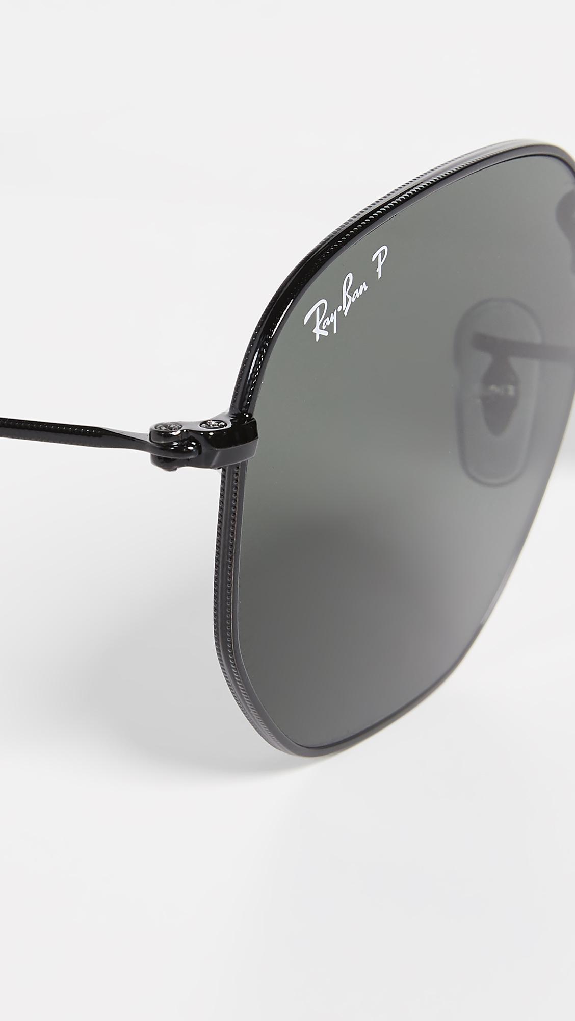 9ee98b8aa1 Ray-Ban RB3548N Polarized Hexagonal Sunglasses