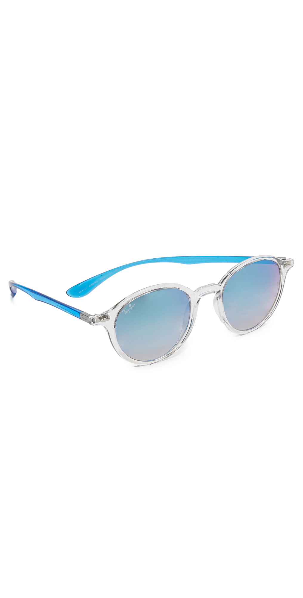 Tech Liteforce Round Flash Sunglasses Ray-Ban