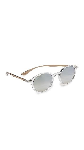 Ray-Ban Tech Liteforce Round Flash Sunglasses