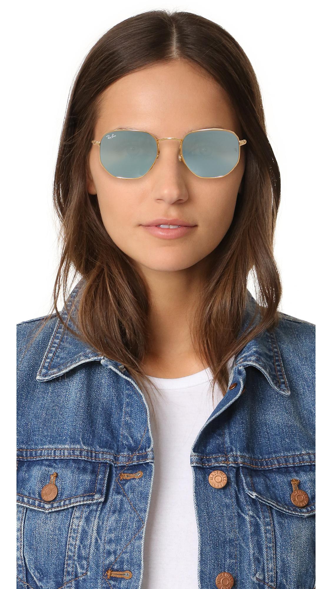e827f21f7cad Ray-Ban Hexagonal Sunglasses