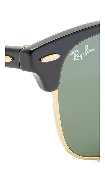 Ray-Ban Классические солнцезащитные очки Clubmaster
