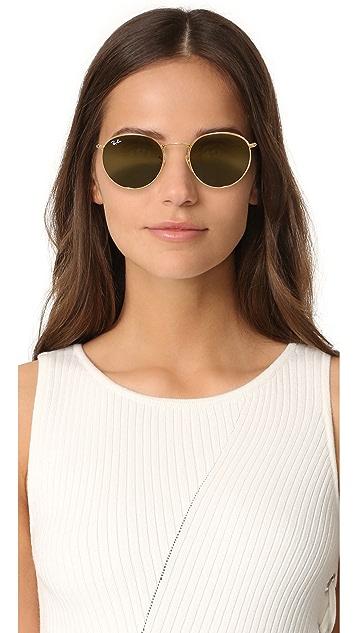 Ray-Ban Phantos Round Sunglasses