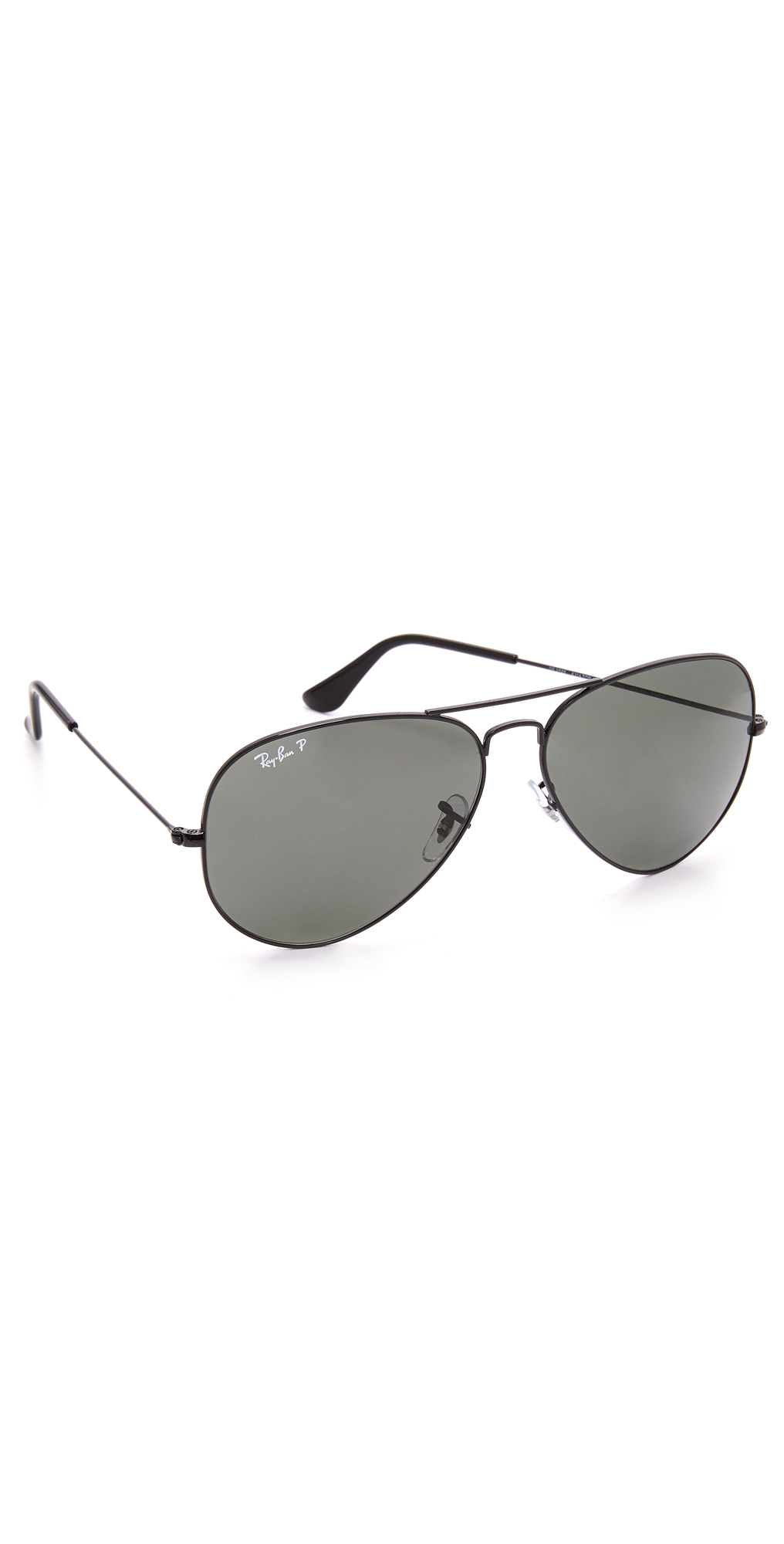 Oversized Polarized Aviator Sunglasses Ray-Ban