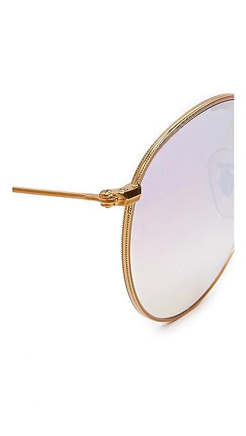Ray-Ban Round Mirrored Sunglasses