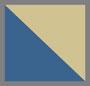 Blue/Dark Orange Gold