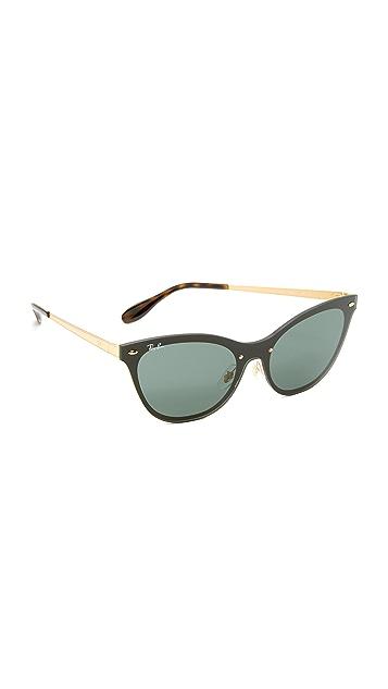 Ray-Ban Cat Eye Flat Sunglasses