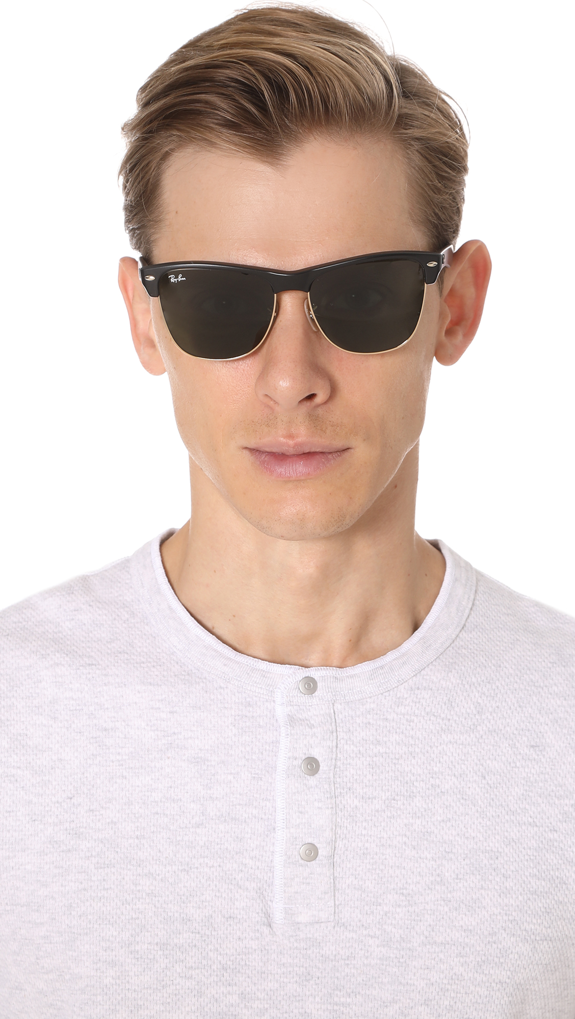 ae22f1fba1 Ray-Ban Clubmaster Oversized Sunglasses