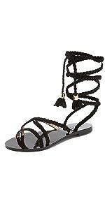 Sadie Gladiator Sandals                Raye